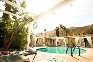 Outdoor pool at LA Dolce Vita Resort.