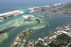 Aerial view of iTrip - Gulf Shores.