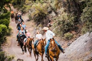 Horesback riding near Inn of Sedona.