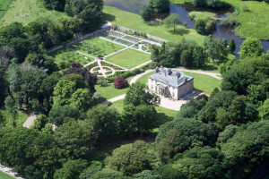 Aerial view of Boath House.