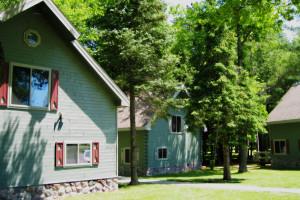 Cabin Exterior at Thunder Bay Resort