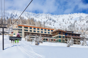 Ski-in ski-out property with our very own chairlift!