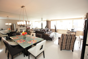 The Alexander rental interior at HORA Vacation Rentals.