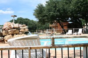 Swimming pool at The Exotic Resort Zoo.