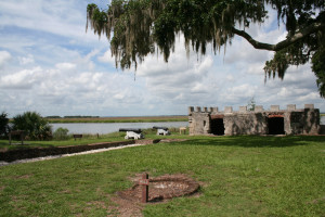 Fort Frederica near Sea Palms Resort.