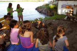 Kid's activities at Bayview Wildwood Resort.