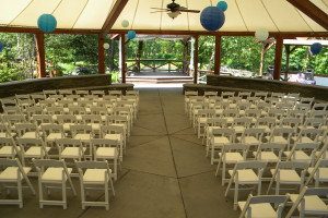 Wedding Ceremony Layout at Emerson Resort & Spa