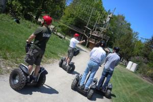 Segway tours at Jiminy Peak Mountain Resort.