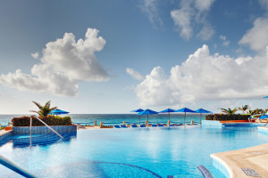 Outdoor pool at Tucan Luxury Cancun.
