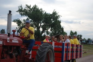Hayride at Colorado Springs KOA.