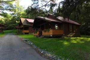Exterior view of The Alpine Inn.