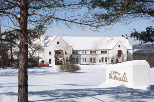 Winter time at La Tourelle Resort & Spa.