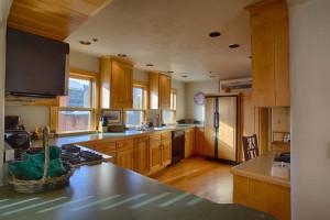 Vacation rental kitchen at Grand Targhee Resort.