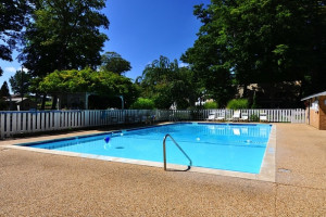 Outdoor Pool at Michillinda Lodge.