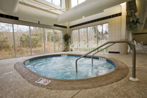 Hot tub view at Wyndham Vacation Resorts Shawnee Village.
