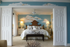 Guest room at Sanibel & Captiva Island Condos.