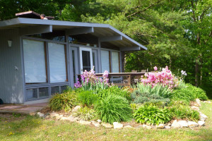 Cabin rental at Shenandoah River Outfitters.