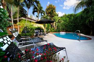 Outdoor pool at Mango Inn Bed & Breakfast.