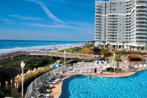 Exterior view of Sea Watch Resort.