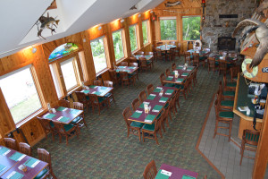 Enjoy lakeside dining at Rock Harbor Lodge after a day on the lake. Rock Harbor serves steaks, seafood, burgers, sandwiches and more!