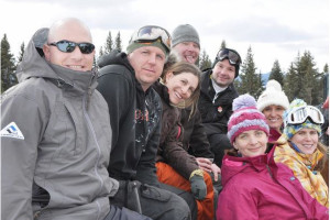 Group at Vail's Mountain Haus.