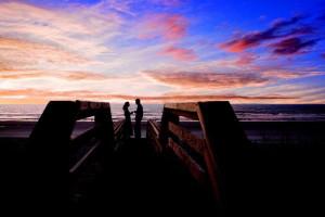 Romantic evening at North Beach Plantation.