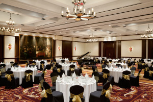 Wedding reception at Fairmont Le Manoir Richelieu.