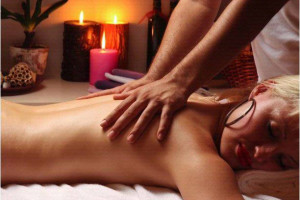 Back massage at Scottsdale Resort & Conference Center.