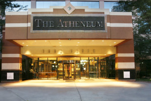 Exterior view of The Atheneum Suite Hotel.