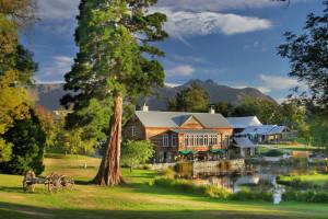 Exterior view of Millbrook Resort.