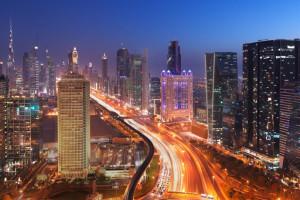 Exterior view of Fairmont Dubai.