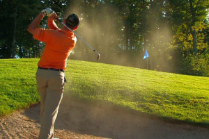 Golfing at Trout Creek Condominium Resort.