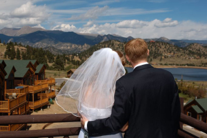 Wedding at Marys Lake Lodge.