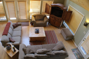 Rental living room at Sunetha Property Management.