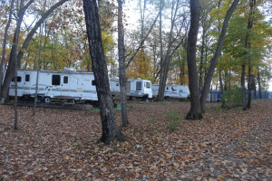 RV Park at Twin Oaks Resort & RV Park.