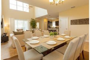 Rental dining room at Favorite Vacation Homes.