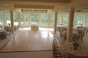 Banquet Hall at Mountain Springs Lake Resort.