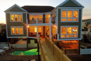 Backyard View at Seaside Rentals