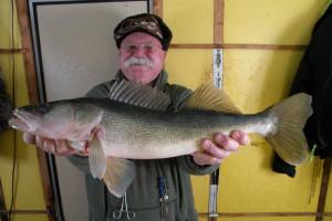 Fishing at Angle Inn Lodge.