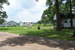 Exterior view of Lake Fork Ranch Resort.
