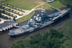 USS North Carolina near The Winds Resort Beach Club.