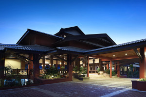 Exterior view of Berjaya Redang Golf & Spa Resort.