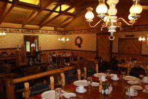Dining at Elk Mountain Ranch.