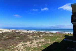 Easy Beach Access at Island House Beach Front Condominiums