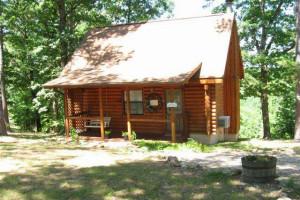 Cabin exterior at Ridge Top Resort & Chapel.