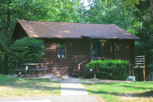 Cabin Exterior at Eddy Creek Marina Resort