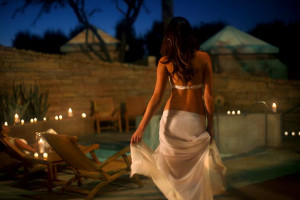 Spa pool at Renaissance Esmeralda Resort.