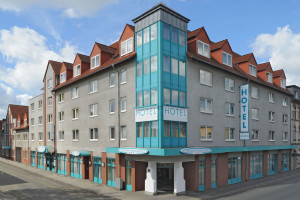 Exterior view of Residenz Oberhausen Appartement Hotel.