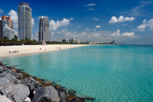 Coastline at Beach Paradise Hotel