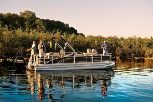 Fishing at Contessa Resort.